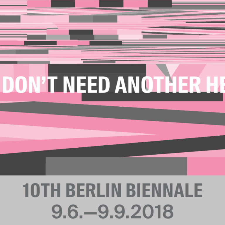 10th Berlin Biennale for Contemporary Art