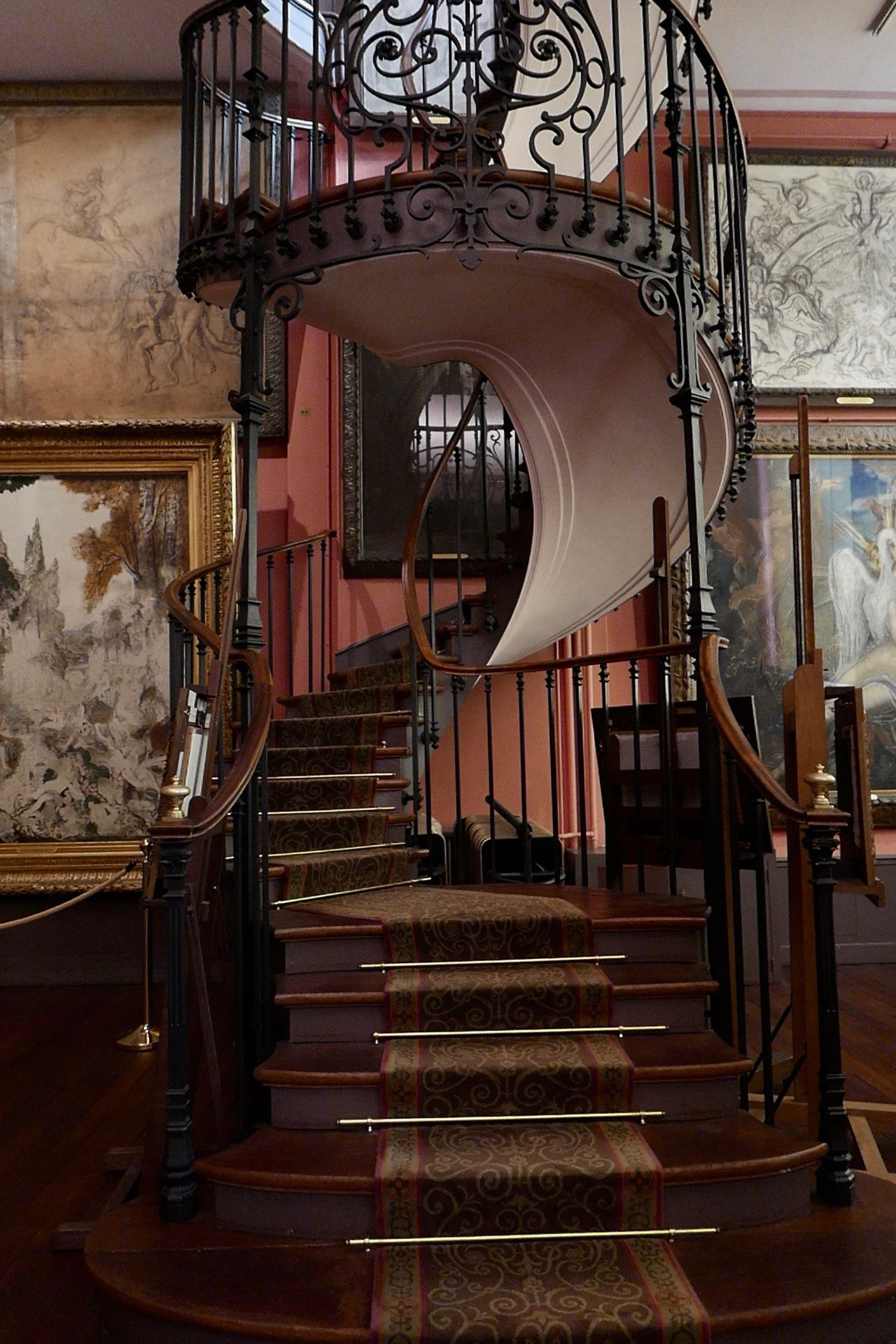 Gustave Moreau stairs