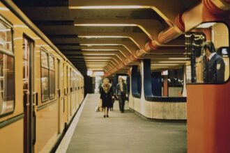 berlin metro station