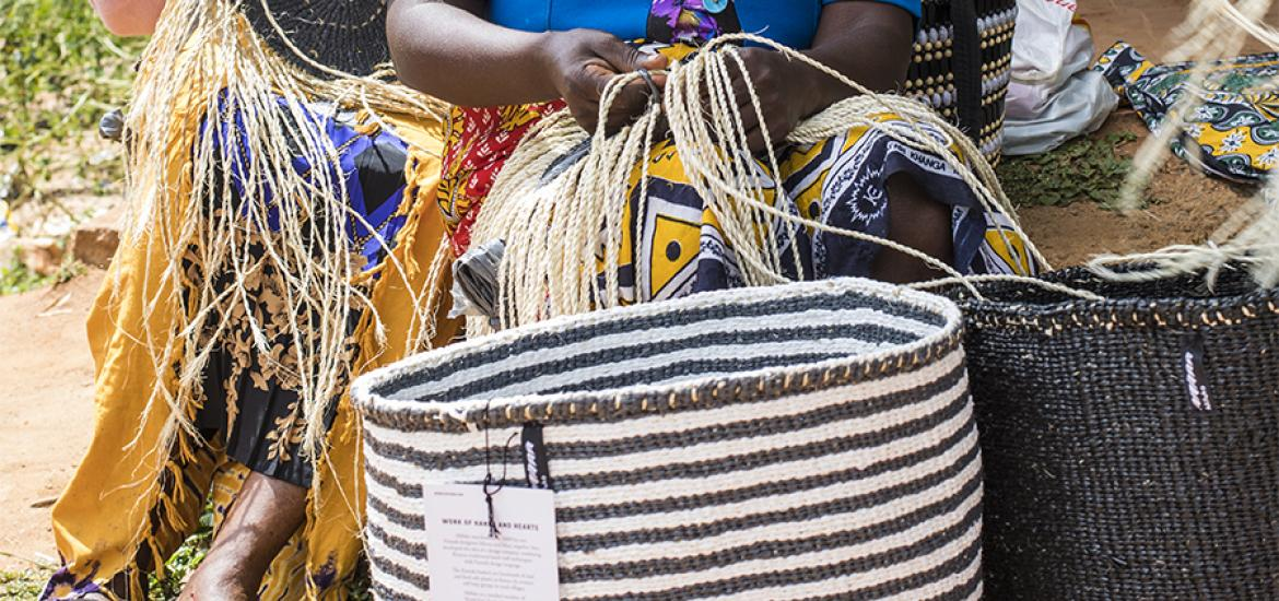 baskets from kenya