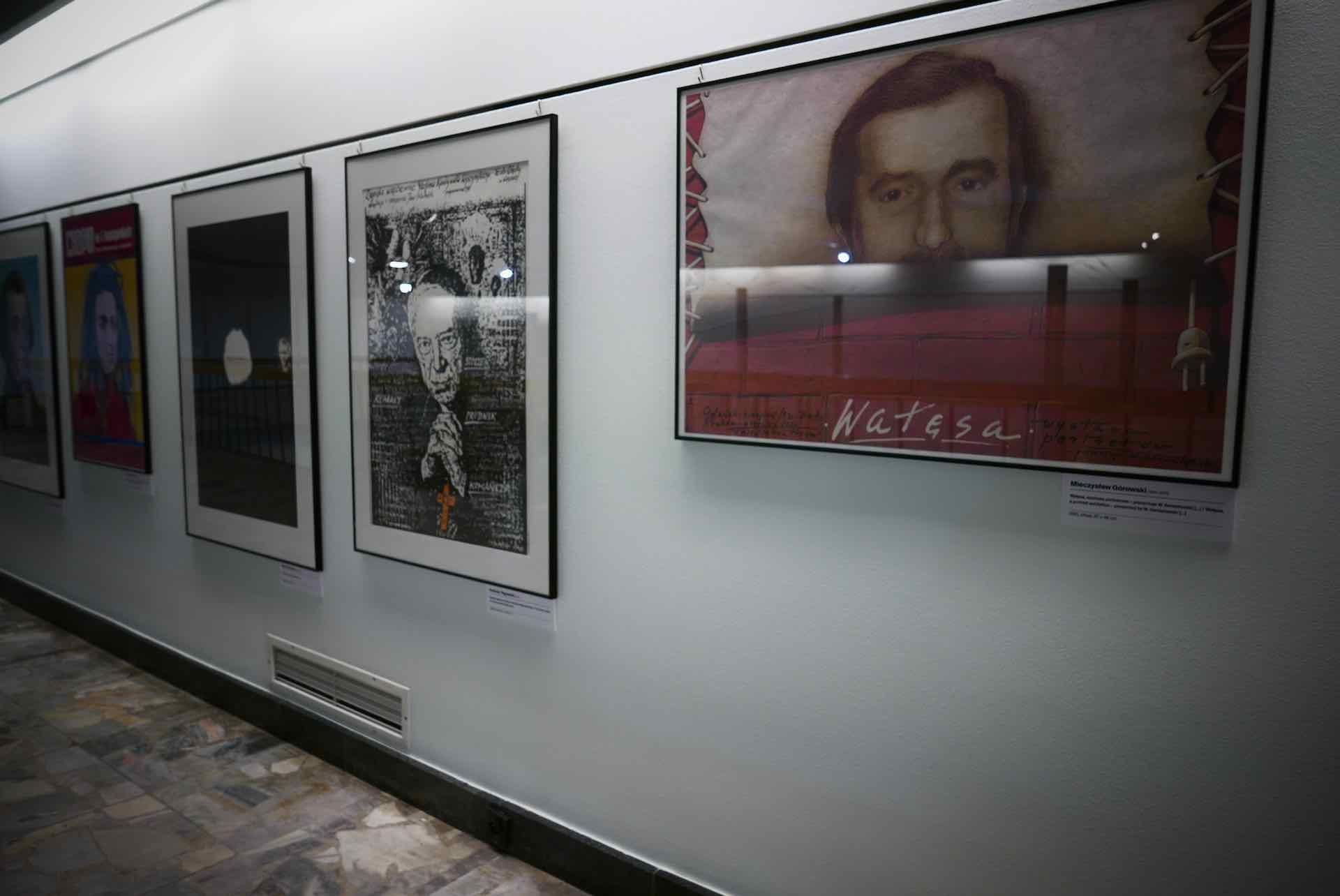 poster museum wałęsa
