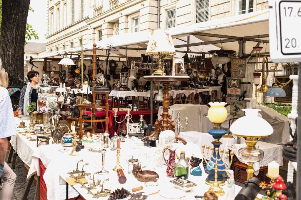 Flea market Trodelmarkt