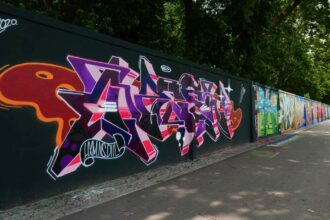 Street art in Warsaw
