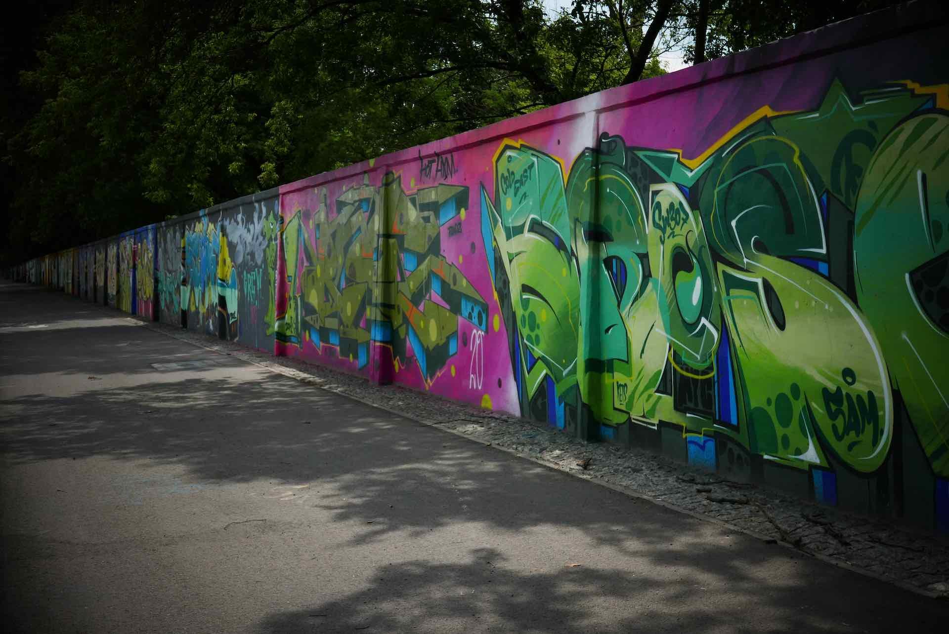 mural art Warsaw