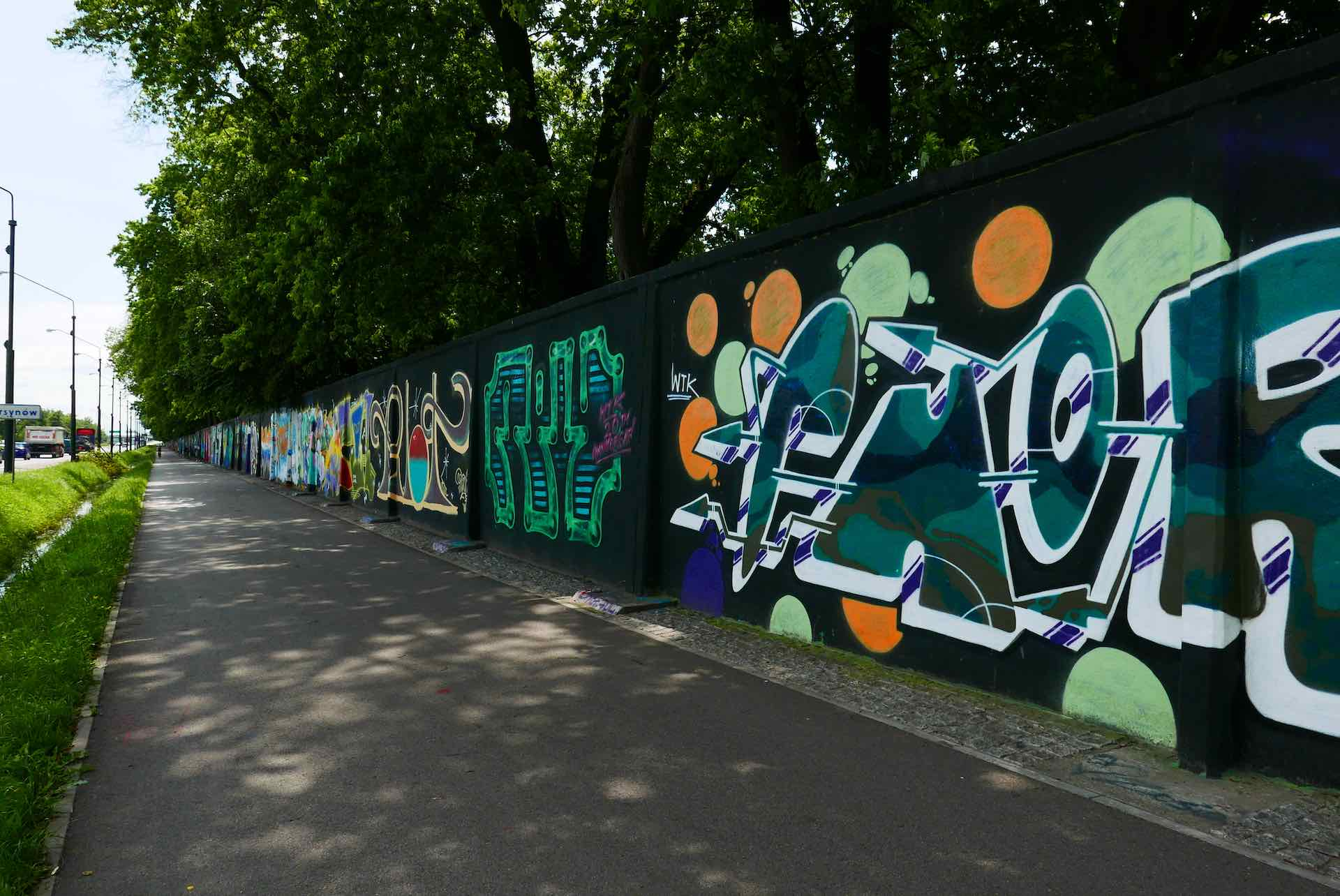 grafiti warsaw