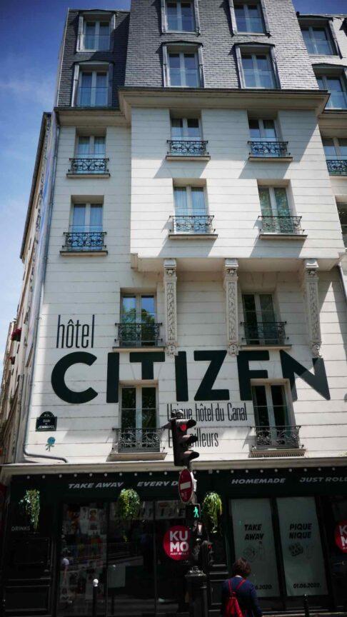 citizen hotel paris