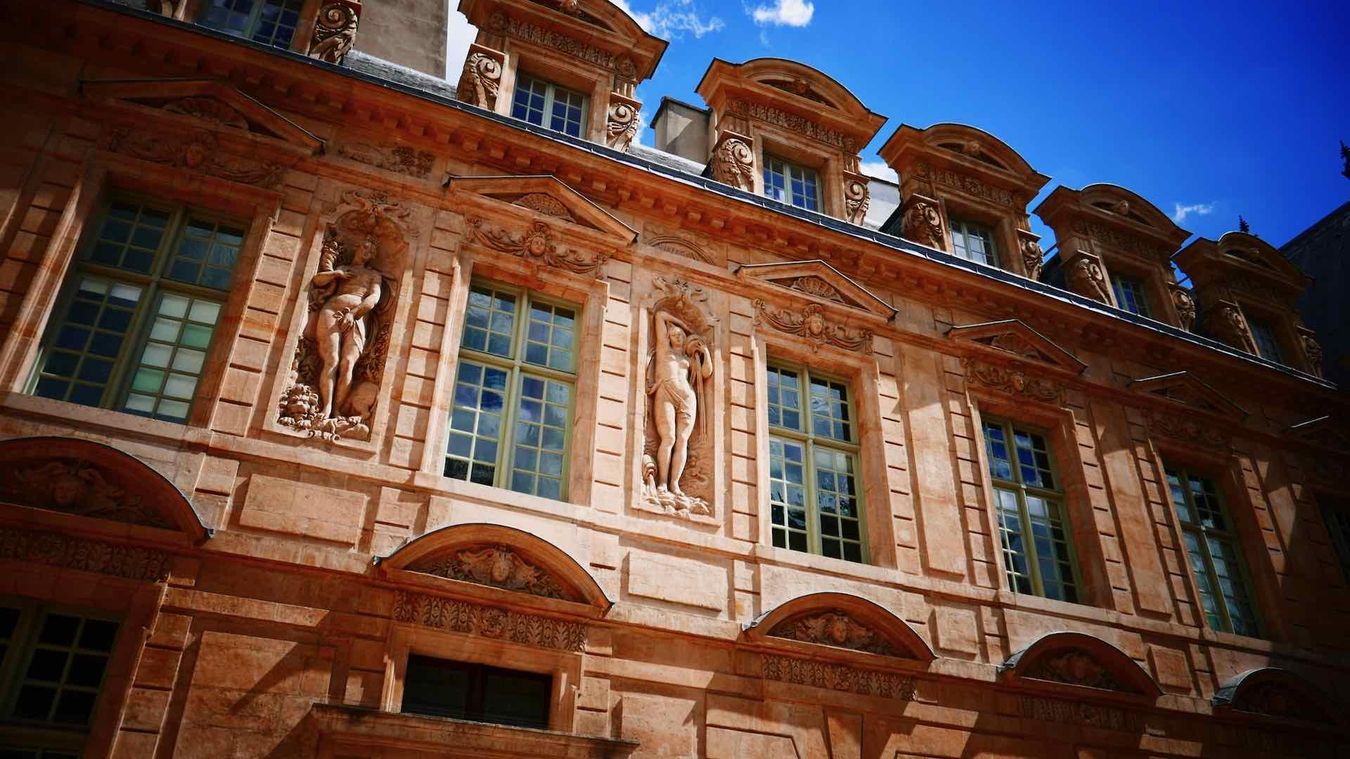 hotel de sully garden