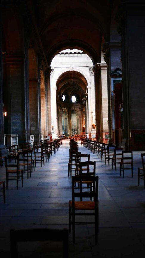 church of saint sulpice paris