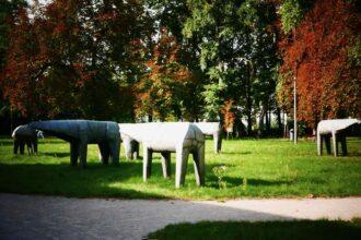 orońsko contemporary sculpture garden abakanowicz