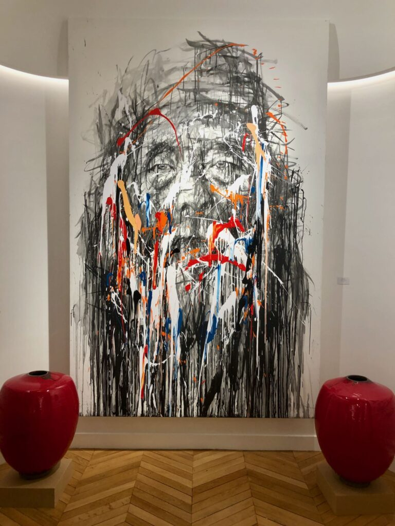 natacha dassault art gallery paris
