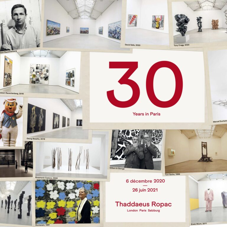 thaddaeus ropac 30 years in paris